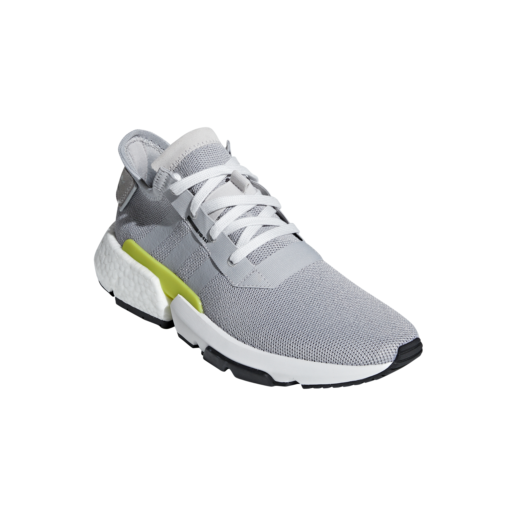 sale retailer 015be 4f540 The high-rebound EVA (ethyl vinyl acetate) element offers a soft and  responsive cushioning to the forefoot, while the Boost heel is designed to  offer ...