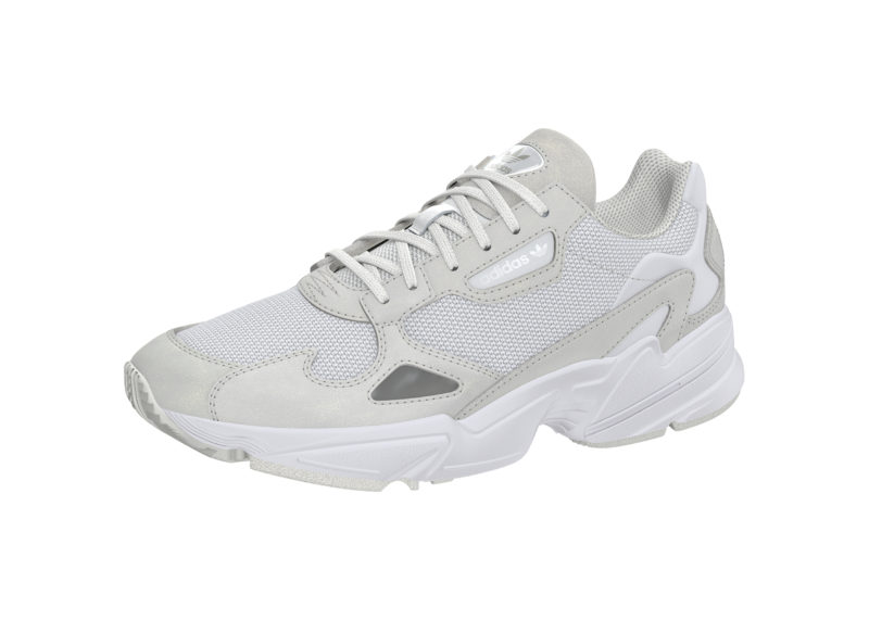 Adidas Falcon White Women's Shoe