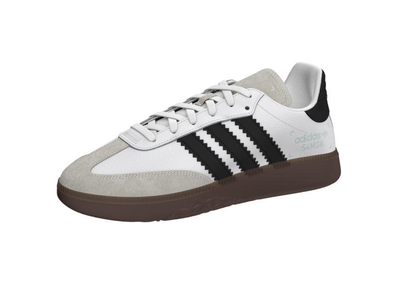 f03bd594e3b1ae Adidas Samba RM White Men s Shoes - Scoop86