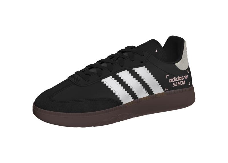 3e05ed560d98b0 Adidas Samba RM Black Men s Shoes - Scoop86