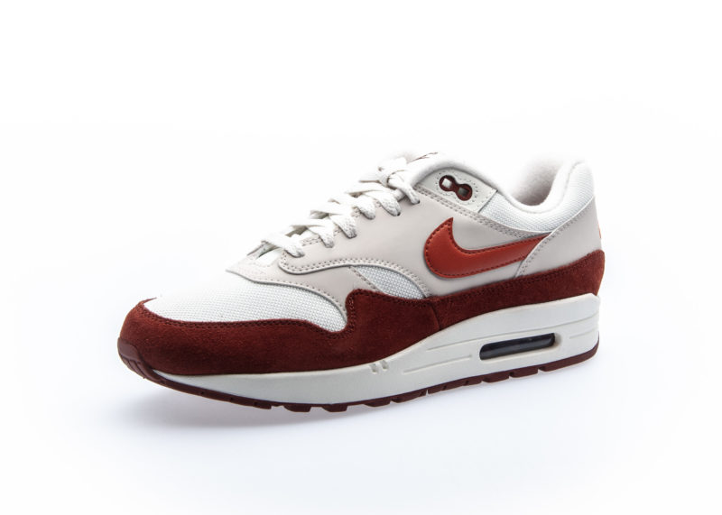 Nike Air Max 1 Red/White Men's Shoe